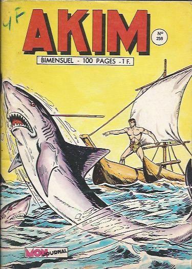Couverture de Akim (1re série) -259- L'éléphant bourreau