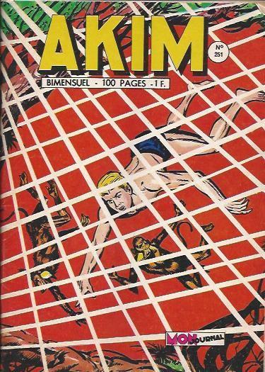 Couverture de Akim (1re série) -251- Les irréductibles