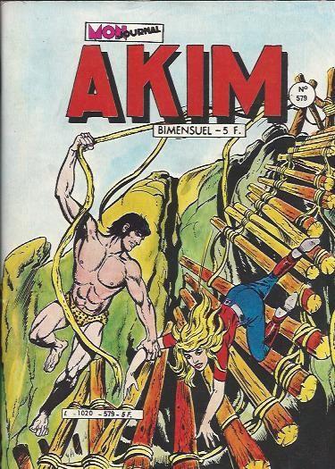 Couverture de Akim (1re série) -579- L'home traqué