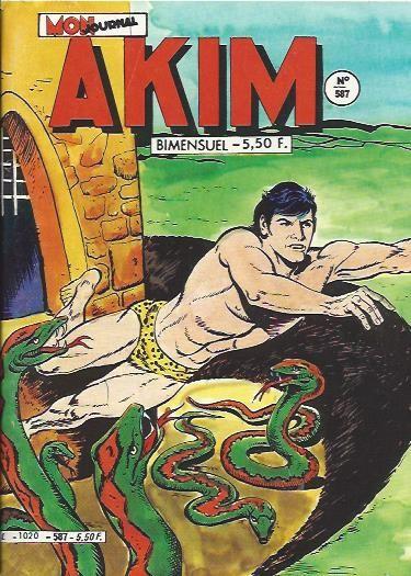 Couverture de Akim (1re série) -587- L'élixir de longue vie