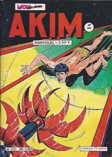 Couverture de Akim (1re série) -500- La fin du Toukar