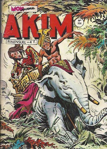 Couverture de Akim (1re série) -524- La fumée rouge