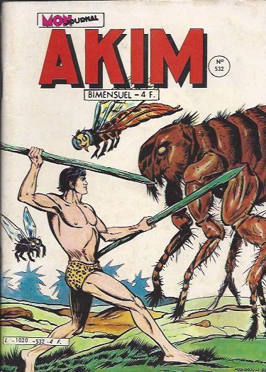 Couverture de Akim (1re série) -532- Les fourmis rouges