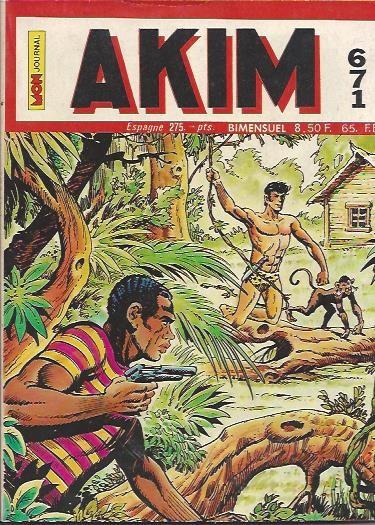 Couverture de Akim (1re série) -671- Ni fleurs ni couronnes pour akim