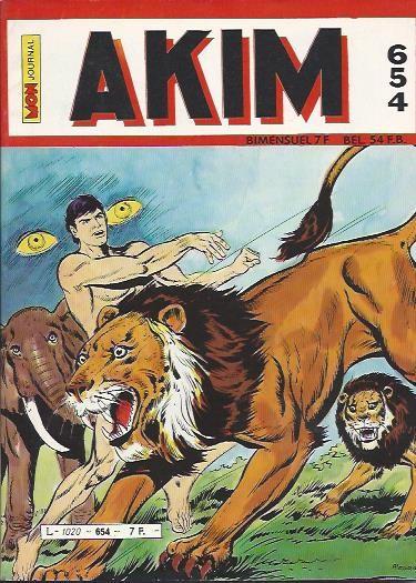 Couverture de Akim (1re série) -654- Les derniers fidèles