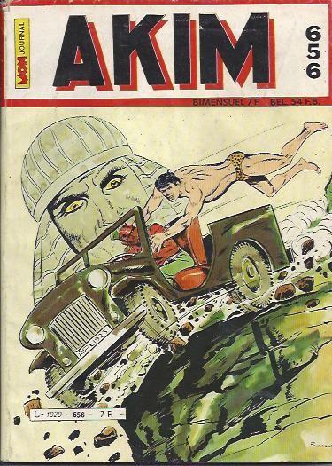 Couverture de Akim (1re série) -656- Le galop de la mort