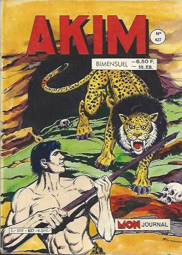 Couverture de Akim (1re série) -637- Les grottes de la mort