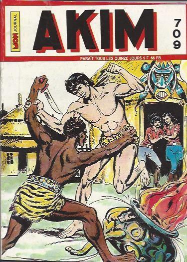 Couverture de Akim (1re série) -709- La dernière carte de Zambo