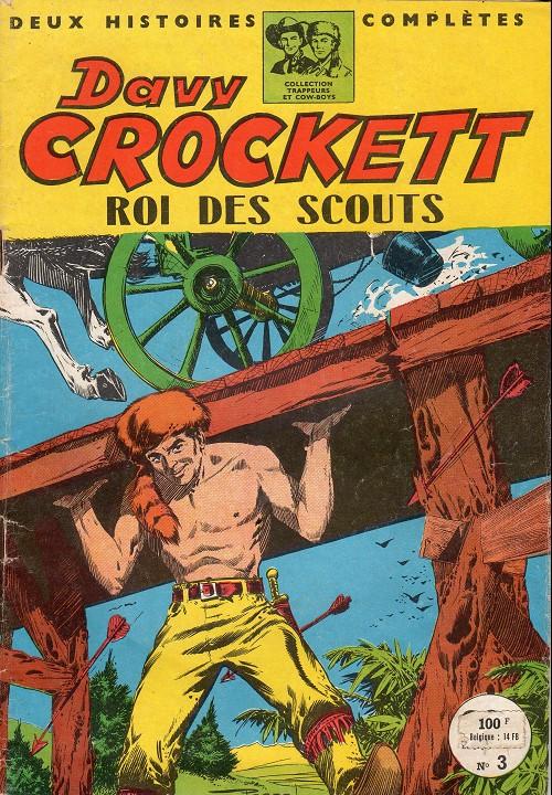 Couverture de Davy Crockett (S.P.E) -3- Roi des scouts
