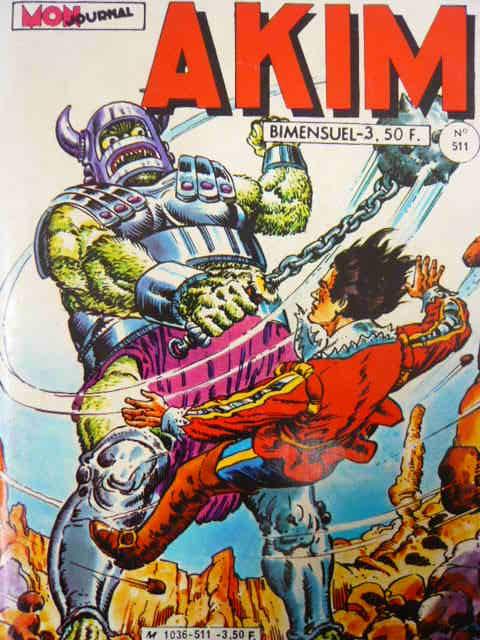 Couverture de Akim (1re série) -511- Le Mystère des Groks