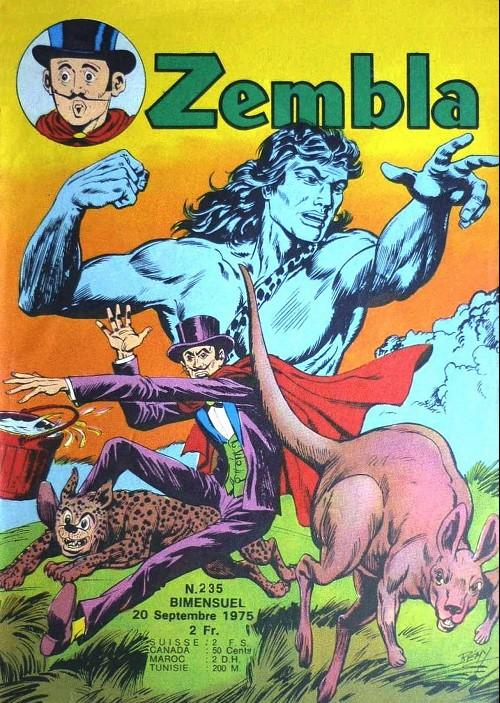 Couverture de Zembla -235- Le grand cobra