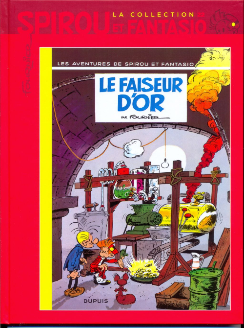 Couverture de Spirou et Fantasio - La collection (Cobra) -22- Le faiseur d'or