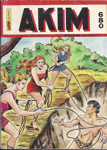 Couverture de Akim (1re série) -680- Le royaume des guerrières