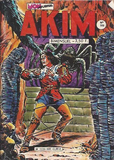 Couverture de Akim (1re série) -508- La nature tend un piège