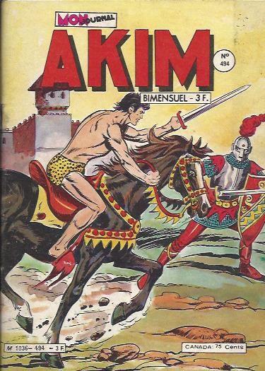 Couverture de Akim (1re série) -494- L'épée invisible