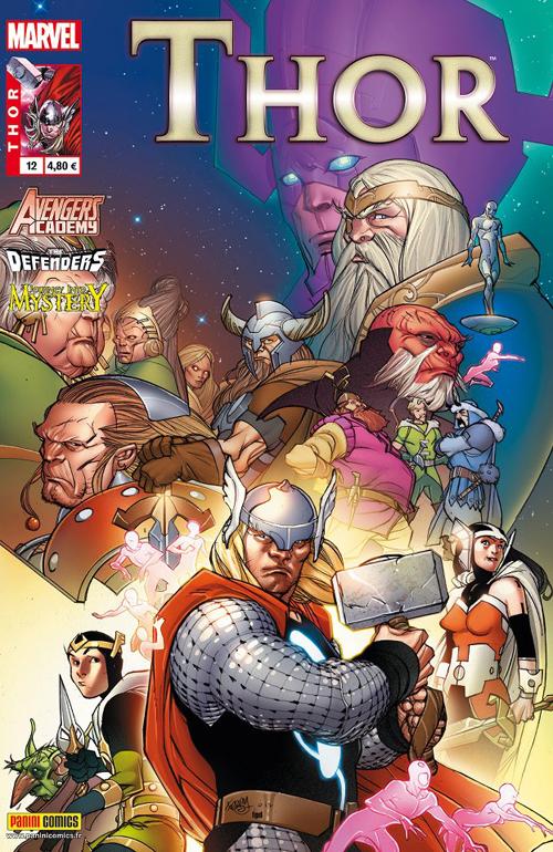 Couverture de Thor (Marvel France 2e série) -12- L'impossible fin