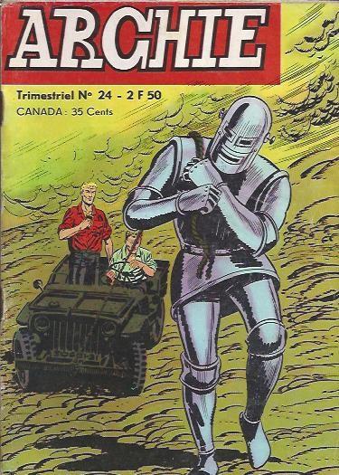 Couverture de Archie (Jeunesse et Vacances) -24- Le mystère du scorpion