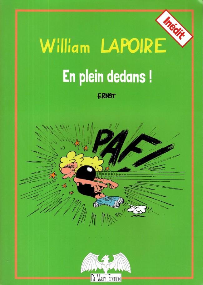 Couverture de William Lapoire -5- En plein dedans !
