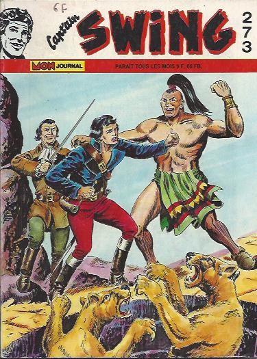 Couverture de Capt'ain Swing! (1re série) -273- Le Mystère de Fort Esmond