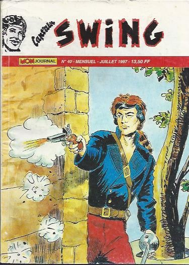 Couverture de Capt'ain Swing! (2e série - Mon Journal) -40- L'ombre