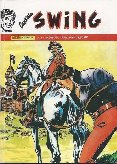 Couverture de Capt'ain Swing! (2e série - Mon Journal) -51- Attila fléau des patriotes