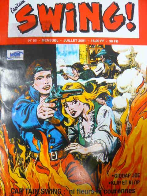 Couverture de Capt'ain Swing! (2e série - Mon Journal) -88- Ni fleurs ni couronnes