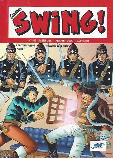 Couverture de Capt'ain Swing! (2e série - Mon Journal) -142- Hussards de la mort
