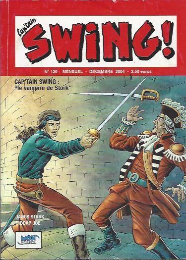 Couverture de Capt'ain Swing! (2e série - Mon Journal) -129- Le vampire de Stork