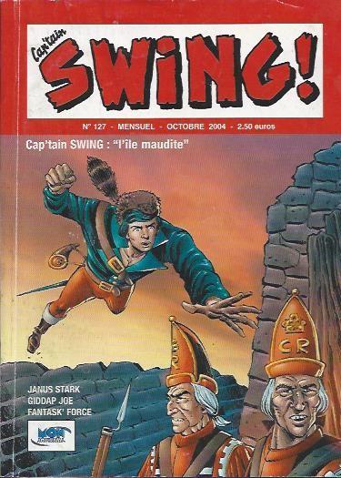 Couverture de Capt'ain Swing! (2e série - Mon Journal) -127- L'île maudite