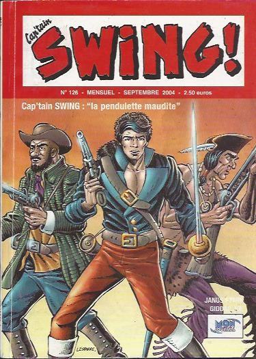 Couverture de Capt'ain Swing! (2e série - Mon Journal) -126- La Pendulette maudite
