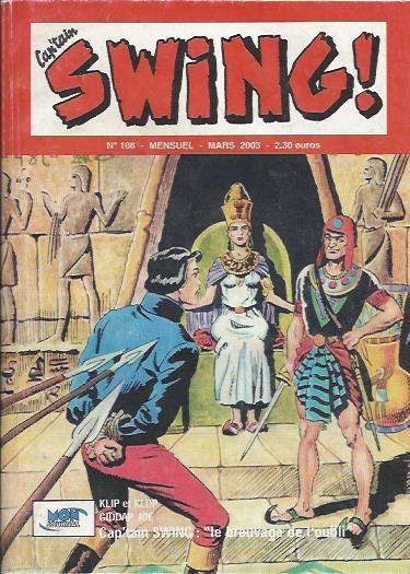 Couverture de Capt'ain Swing! (2e série - Mon Journal) -108- Le Breuvage de l'oubli