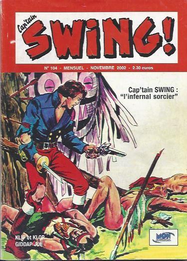 Couverture de Capt'ain Swing! (2e série - Mon Journal) -104- L'infernal sorcier