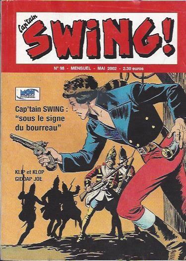 Couverture de Capt'ain Swing! (2e série - Mon Journal) -98- Sous le signe du bourreau