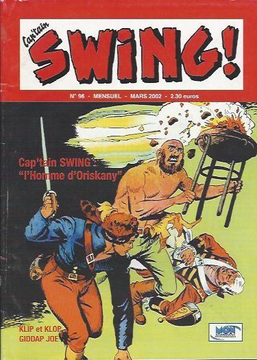 Couverture de Capt'ain Swing! (2e série - Mon Journal) -96- L'homme d'Oriskany