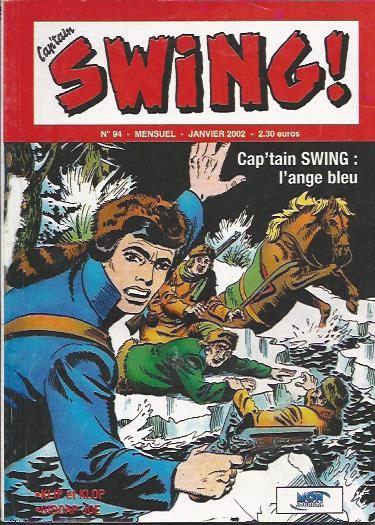 Couverture de Capt'ain Swing! (2e série - Mon Journal) -94- L'ange bleu