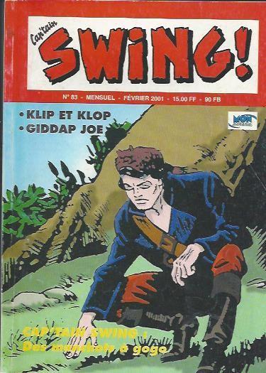 Couverture de Capt'ain Swing! (2e série - Mon Journal) -83- Des manchots à gogo