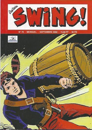 Couverture de Capt'ain Swing! (2e série - Mon Journal) -78- Le tonnelet tragique