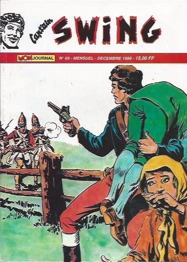 Couverture de Capt'ain Swing! (2e série - Mon Journal) -69- L'homme à la vielle