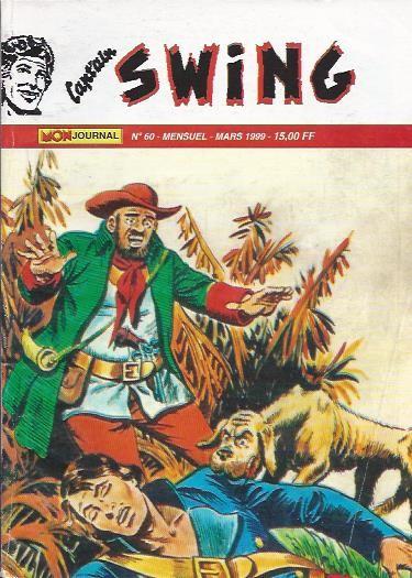 Couverture de Capt'ain Swing! (2e série - Mon Journal) -60- L'homme à la moustache grise