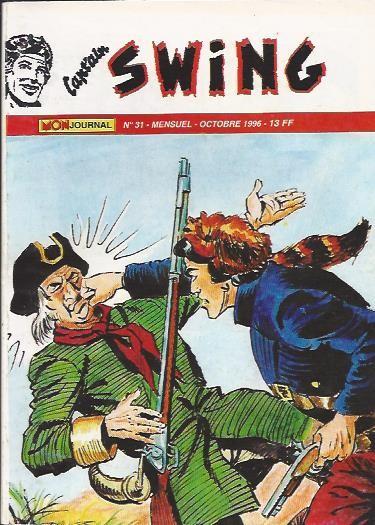 Couverture de Capt'ain Swing! (2e série - Mon Journal) -31- Le mystère de la Grande Ourse