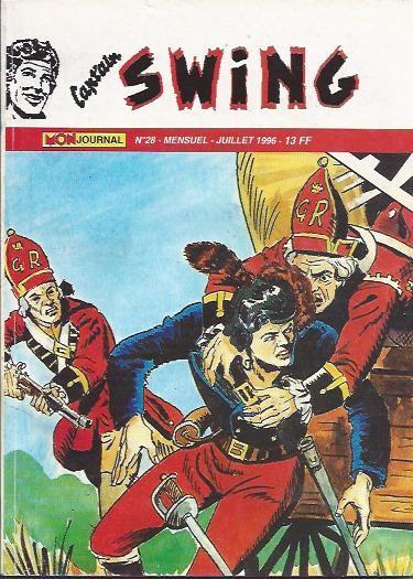 Couverture de Capt'ain Swing! (2e série - Mon Journal) -28- Le traître