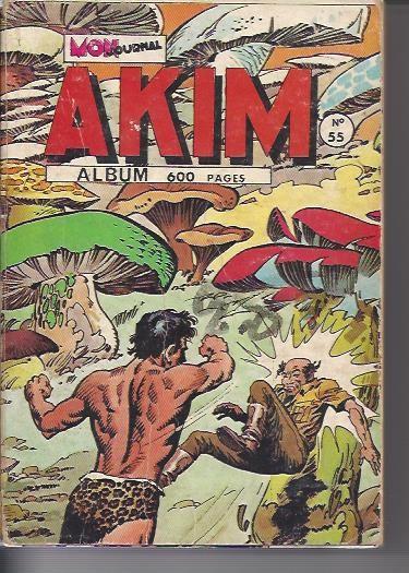 Couverture de Akim (1re série) -Rec055- Album N°55 (du n°333 au n°338)