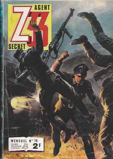Couverture de Z33 agent secret -16- Dangereux anniversaire