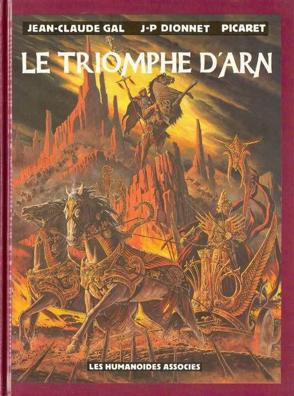 Couverture de Arn -2- Le triomphe d'Arn