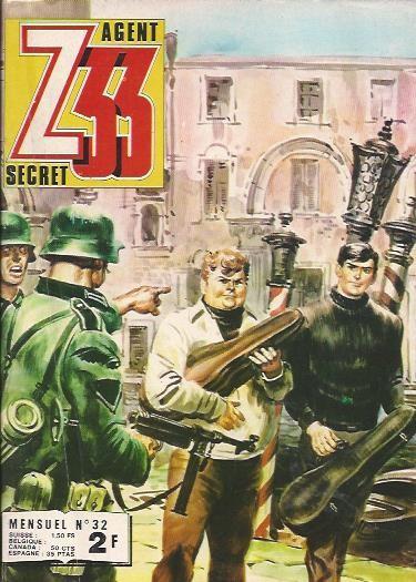 Couverture de Z33 agent secret -32- La marionnette rouge