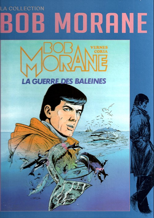 Couverture de Bob Morane 11 (La collection - Altaya) -30- La guerre des baleines