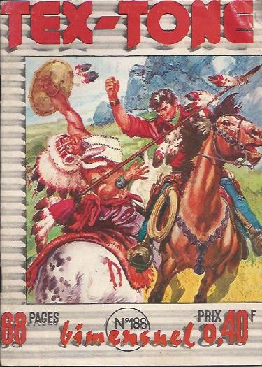 Couverture de Tex-Tone -188- Cow boy en danger