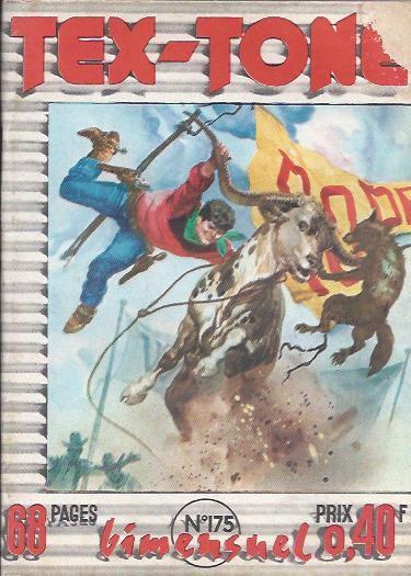 Couverture de Tex-Tone -175- Les cavaliers de boot-hill