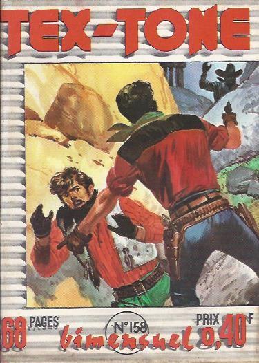 Couverture de Tex-Tone -158- Le mexicain