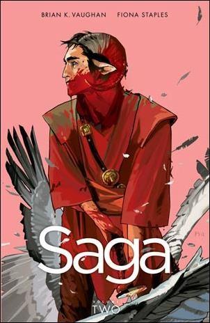 Couverture de Saga (Image comics - 2012) -INT02- Saga - Volume Two